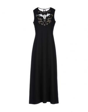 Длинное платье DARLING London. Цвет: черный