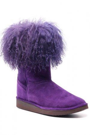 Сапоги Joyks. Цвет: фиолетовый