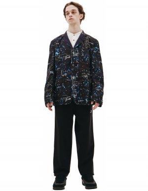Черный пиджак из шерсти Junya Watanabe