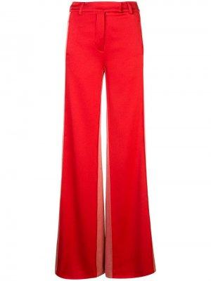 Расклешенные брюки в стиле колор-блок Alexis