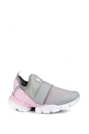Обувь спортивная Bibi. Цвет: серый, розовый