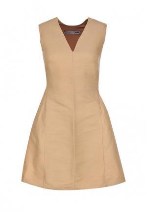 Платье JNBY. Цвет: бежевый