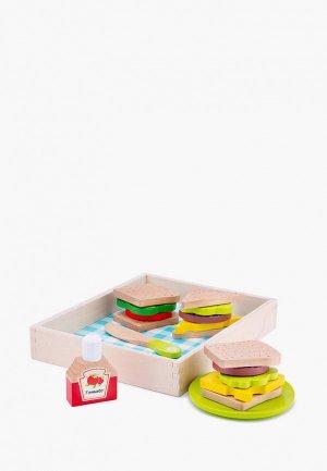 Набор игровой New Classic Toys продуктов для пикника. Цвет: разноцветный