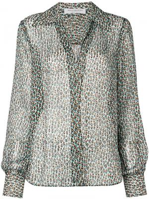 Леопардовая рубашка с эффектом 3D Philosophy Di Lorenzo Serafini