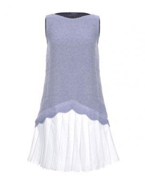 Короткое платье ANDREA TURCHI. Цвет: сиреневый