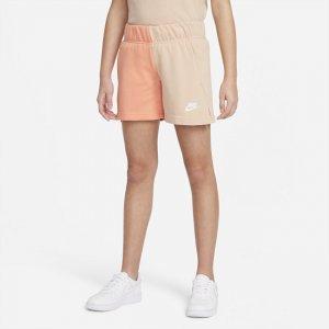 Шорты из ткани френч терри для девочек школьного возраста Nike Sportswear - Коричневый