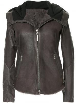 Куртка на молнии Isaac Sellam Experience. Цвет: коричневый