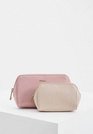 Комплект Furla PIN COMETA. Цвет: розовый