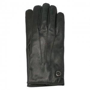 Кожаные перчатки Moreschi. Цвет: зелёный