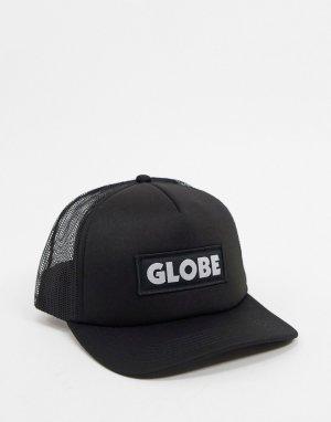 Черная кепка -Черный Globe