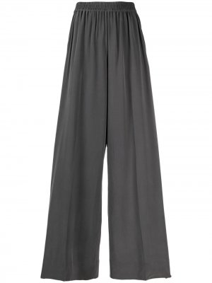 Широкие брюки Equipment. Цвет: серый