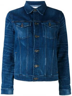 Джинсовая куртка Hudson. Цвет: синий
