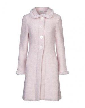 Пальто CHARLOTT. Цвет: розовый