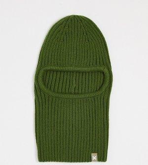 Зеленая балаклава COLLUSION Unisex-Зеленый