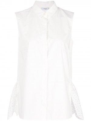 Рубашка асимметричного кроя без рукавов Akris Punto
