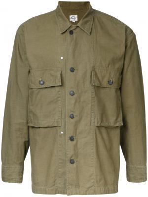 Куртка в силе милитари Gold / Toyo Enterprise. Цвет: зелёный