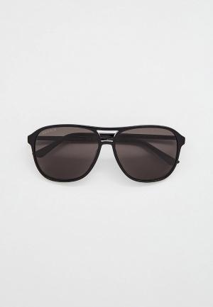 Очки солнцезащитные Gucci GG0016S006. Цвет: черный