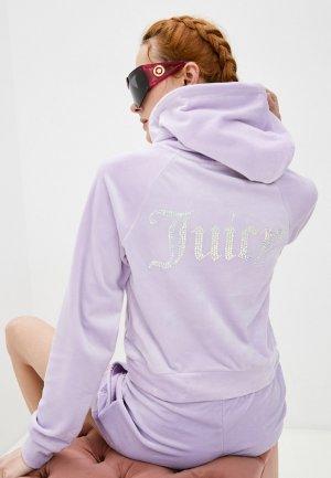 Худи Juicy Couture. Цвет: фиолетовый