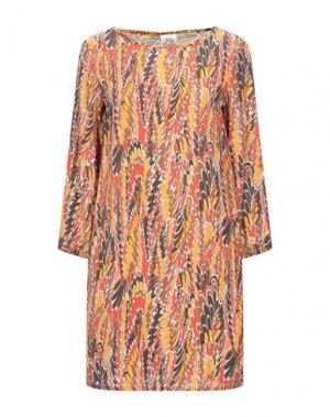 Короткое платье ATTIC AND BARN. Цвет: абрикосовый