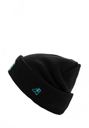Шапка Atributika & Club™ NHL San Jose Sharks. Цвет: черный