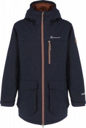 Куртка утепленная для мальчиков , размер 146 Outventure. Цвет: синий