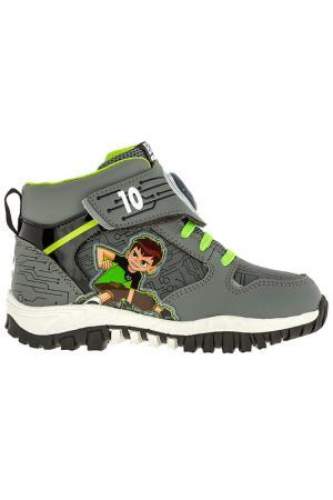 Ботинки BEN 10. Цвет: серый