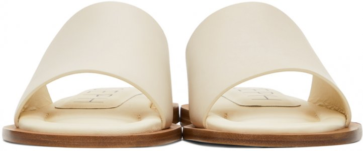 Off-White Softy Pool Sandals Joseph. Цвет: 13022 ltbei