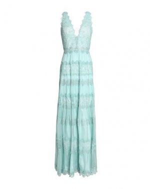 Длинное платье CATHERINE DEANE. Цвет: светло-зеленый