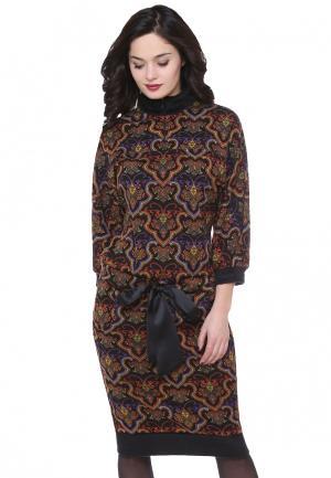 Платье Olivegrey SANGRIA. Цвет: разноцветный