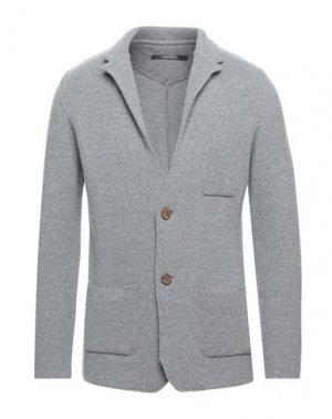 Пиджак ALBARENA. Цвет: серый