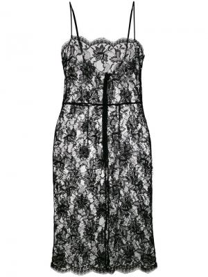 Сорочка миди Knightsbridge Gilda & Pearl. Цвет: черный