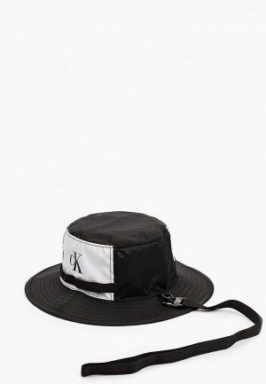 Панама Calvin Klein Jeans. Цвет: черный