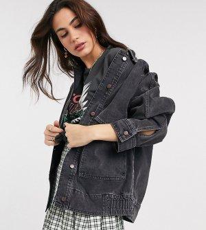 Черная джинсовая куртка inspired-Черный цвет Reclaimed Vintage