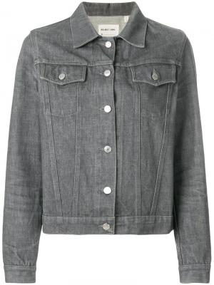 Джинсовая куртка Helmut Lang Vintage. Цвет: серый