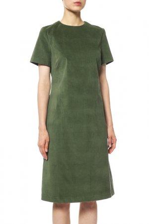 Платье Cyrille Gassiline. Цвет: крапивный