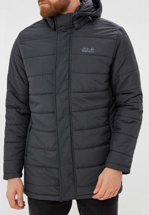 Куртка утепленная Jack Wolfskin SVALBARD COAT MEN. Цвет: черный