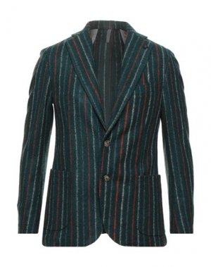 Пиджак PAUL MIRANDA. Цвет: темно-зеленый
