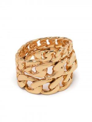 Цепочное кольцо Emanuele Bicocchi. Цвет: золотистый