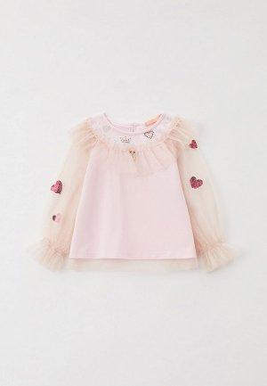 Блуза Choupette. Цвет: розовый