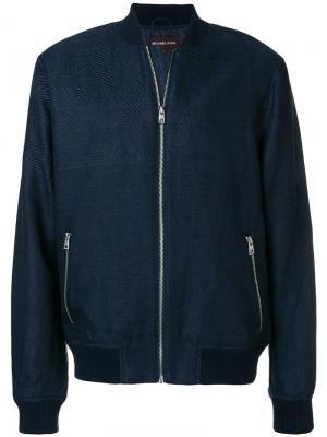 Куртка-бомбер Michael Kors Collection. Цвет: синий