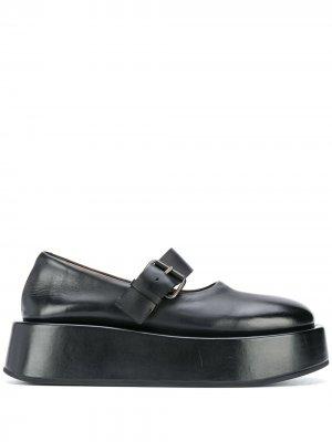 Туфли на платформе Marsèll. Цвет: черный