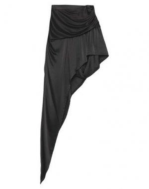 Мини-юбка ALEXANDER WANG. Цвет: черный