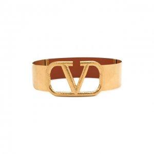 Пояс Garavani Valentino. Цвет: коричневый