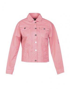 Куртка FORNARINA. Цвет: лососево-розовый