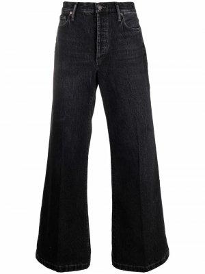 Широкие джинсы Acne Studios. Цвет: черный