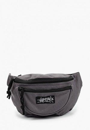 Сумка поясная Anteater waist.bag-grey. Цвет: серый