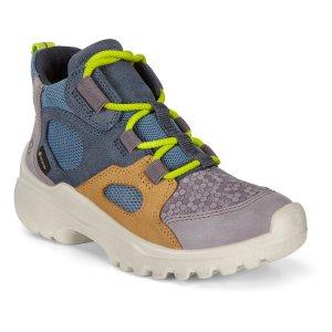Ботинки XPERFECTION ECCO. Цвет: голубой