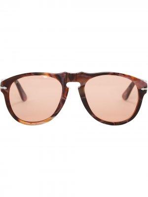 Солнцезащитные очки-авиаторы из коллаборации с Persol JW Anderson. Цвет: розовый