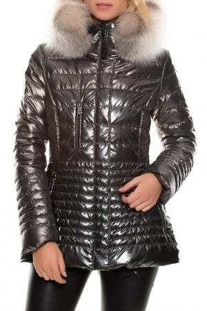 Jacket John & Yoko. Цвет: platinum