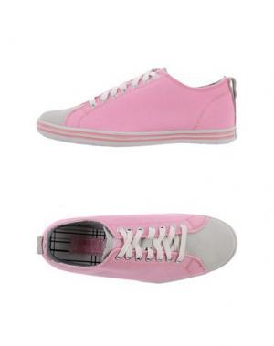 Низкие кеды и кроссовки BOBBIE BURNS. Цвет: розовый